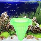 Aquarium Basket Feeder With Suction Cup Fish Food Spread Coned Feeder D7r6 E0b4