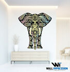Indian Elephant Vinyl Wall Sticker Decal Bedroom Living Room Decoration Artwork