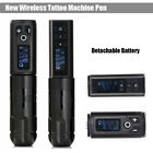 Portable Wireless Tattoo Machine Pen Swiss Motor 1800mA/h Battery Power Supply