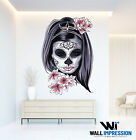Mysterious Lady Wall Sticker Decal Bedroom Living Room Decoration Artwork