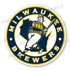 Milwaukee Brewers  Round  Precision Cut Decal / Sticker