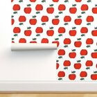 Wallpaper Roll Apples Apple Red Kids Fruits Food 24in x 27ft