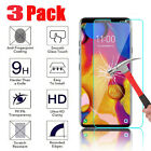 For LG V40 ThinQ Real Premium Tempered Glass Screen Protector HD Protective Film
