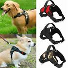 No Pull Dog Pet Harness Adjustable Control Vest Dogs Reflective S M L XL USA