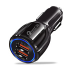 USB Fast Car Charger 3.0  3-1 Charging Cable for iPhone Samsung Wall Charger