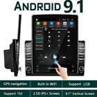 2 Din Android 8.1 9.7 Vertical Car Stereo Radio GPS Navi Bluetooth USB Player