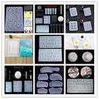 Silicone Mold Pendant Resin Epoxy Diy Rectangle Mould Casting Craft Tool 2020