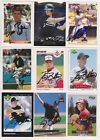 Chicago White Sox Signed auto cards PICK LIST 1.49-3.99 each autograph MLB HOF on Ebay