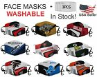 NFL Football Teams Washable Reusable Face Masks And 3 Filters-Choose Your Team $18.95 USD on eBay