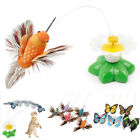 Gift Pet Accessories Random Color Butterfly Flying Interactive Training Cat Toy