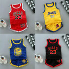 Summer Kids Baby Boys Basketball Clothes Child Boy Sports Outfits Clothes Sets
