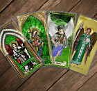 Saint Raphael Archangel laminated Holy Prayer cards. Stained Glass, Icon, Statue