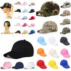 Glitter Ponytail Baseball Caps Women Men Messy Bun Snapback Hip Hop Hat