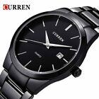 2018 Fashion CURREN Watches Sport Steel Clock Top Quality Military Men's Male
