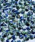 90 COE Bullseye Glass Fusing Dots XL Frit Balls Blue Green Brown Opal Mix Mosaic