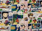 BETTY BOOP Cotton Fabric - 1/4 Yard to 1 YARD -  OOP & EXTREMELY RARE! $27.99 USD on eBay
