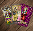 Saint Apollonia, Ancient Egypt laminated Holy Prayer cards. Dental problems
