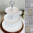 Multi-Style 3 Tier Cake Plate Stand Handle Fitting Hardware Rod Plate Stand New
