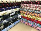 100%25+cotton+premium+quality+fabric+45%22+wide+%2C+quilting+craft+kids+floral+NHS+