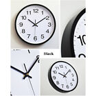 12'' Modern Large Display Quartz Wall Clock Non-ticking Silent Battery Powered