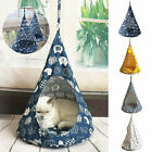 Pet Removable Washable Hanging House Conical Tent For Cat Dog Hammock Small New