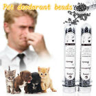 Cat Litter Deodorant Beads Activated Charcoal Absorbs Tight Odor Cat Stink Bead~