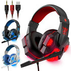 Kyпить 3.5mm Gaming Headset Mic LED Headphones Stereo Bass Surround For PC Xbox One PS4 на еВаy.соm