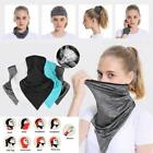 Half Face Mask Scarf Balaclava Motorcycle Cycling Neck Cover Sun Uv Protection @