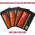 8/16/32GB MS Memory Stick PRO-HG Duo HX MagicGate Card For Sony PSP All Versions