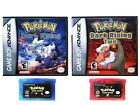 Pokemon Dark Rising 1 and 2 Gameboy Advance GBA Fan Made Game / Case USA Seller