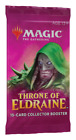 (5) MTG Magic the Gathering Sealed Throne of Eldraine Collectors Booster Pack