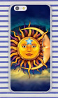 Hippie Psychedelic Peace Art Sun Moon Star Hard Cover Case For iPhone Huawei New