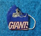 Washable Handmade Fabric Face Mask filter pocket NFL NEW YORK GIANTS