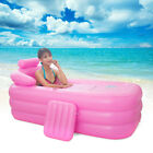 Blowup Adult Spa PVC Folding Portable Bathtub Warm Inflatable Bath Tub Brand New
