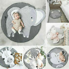 Animal Baby Crawling Blanket Round Mat Rug for Kids Activity Floor Play Mat Home