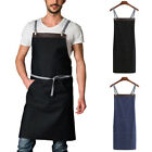 INCERUN Mens Work Apron Kitchen Restaurant Chef Uniform Cafe Wear Baking Aprons