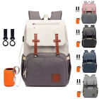 Diaper Bag Backpack Ultra Waterproof Maternity Nappy Changing Bags with USB Port