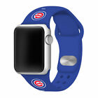 Chicago Cubs Silicone Sport Band Compatible With The Apple Watch