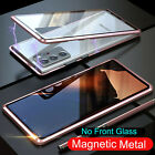 For Samsung Galaxy Note 20/20 Ultra Magnetic Metal Single Glass Back Case Cover