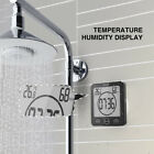 Waterproof Digital Shower Clock for Bathroom Kitchen w/ Count Down Timer Home US