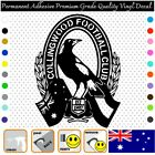 Collingwood Afl - Permanent Adhesive Vinyl Decal Sticker Car/wall/laptop/window