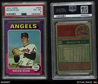 1975 Topps 500 Nolan Ryan Angels PSA 6 EX MT