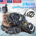 New Crampons Ice Cleats For Shoes / Boots Male Size Large Ice Snow Winter Spikes