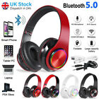 Wireless Bluetooth Headphones with Noise Cancelling Over Ear Stereo Earphones UK