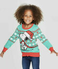 Girls' Peanuts SNOOPY Ugly Christmas Sweater Baby Infant 12M 18M, Toddler 3T