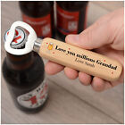 PERSONALISED Birthday Christmas Bottle Opener Gifts for Grandad Daddy Him Men