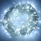 10-100M LED Waterproof Mains Plug In Fairy String Lights Outdoor Garden Xmas UK