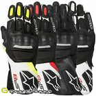 Alpinestars SP-8 V2 Leather Motorcycle Motorbike Gloves