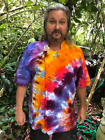 Tie Dyed Chef Jacket Coat Custom Made You pick colors and design.