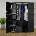20 Cube Modular Wardrobe Hanging Clothes Cube Books Towels Storage w 10